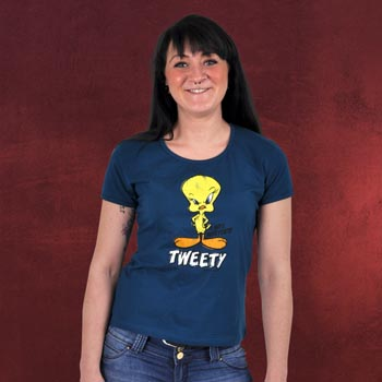 Tweety Girlie Shirt