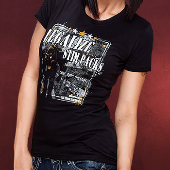 StarCraft Terran Legalize Stim Packs Girlie Shirt