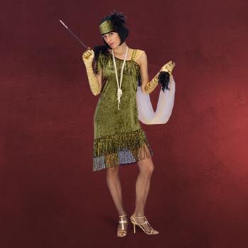 Charleston mit Stirnband - Kostüm