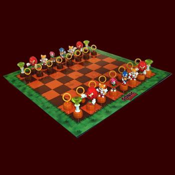 Sonic the Hedgehog - Schachspiel