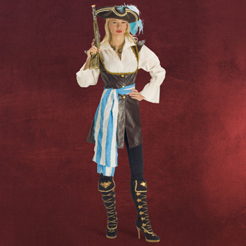 Piratin - Damenkostüm
