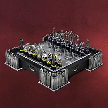 Batman - The Dark Knight - Deluxe Schachspiel, beleuchtet