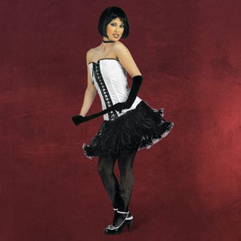 Mini-Petticoat schwarz