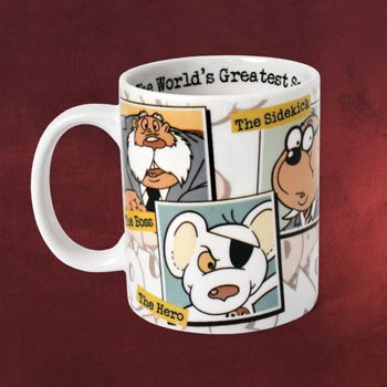 Danger Mouse - Characters Tasse