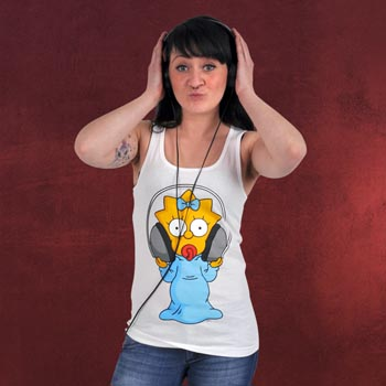 The Simpsons - Maggie Tank Top