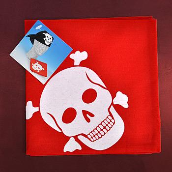 Piraten Bandana rot