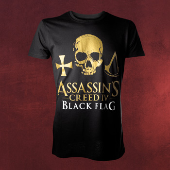 Assassins Creed IV Black Flag - Skull T-Shirt