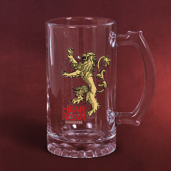 Game of Thrones - House Lannister Glaskrug