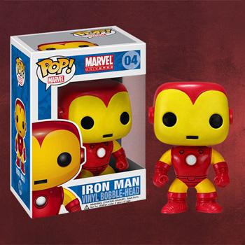 Iron Man Wackelkopf-Figur