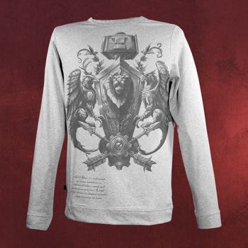 World of Warcraft - Crest of the Alliance Longsleeve