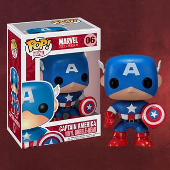 Captain America - Marvel Wackelkopf-Figur
