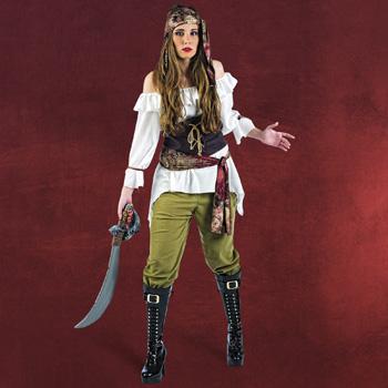 Piratin Kostüm Jackie