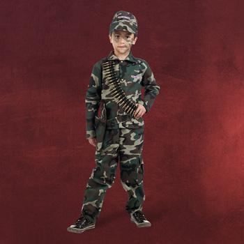 Tapferer Soldat Kinderkostüm