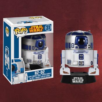 Star Wars - R2-D2 Wackelkopf-Figur