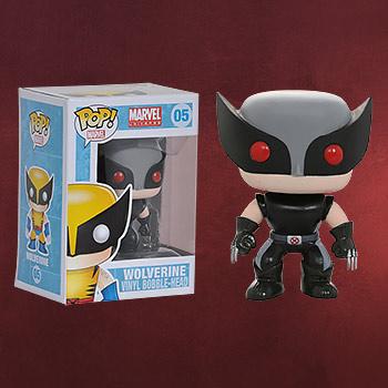 X-Men - Wolverine Wackelkopf-Figur exklusiv