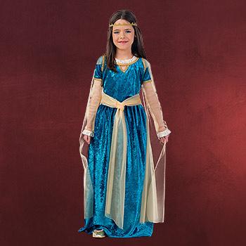 Mittelalter Prinzessin - Kostüm Kinder
