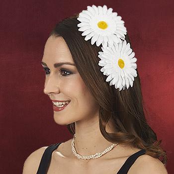 Blütenclips - Haarschmuck