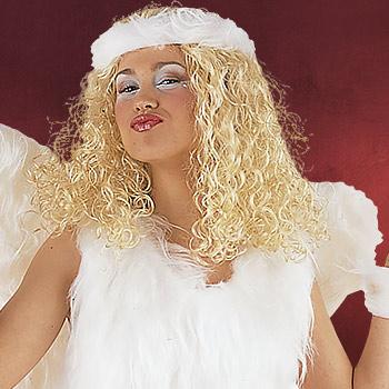 Sexy Krankenschwester Perücke blond - Kostüm Zubehör
