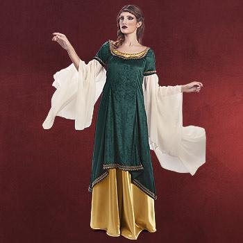 Mystica Prinzessin grün - Kostüm Damen