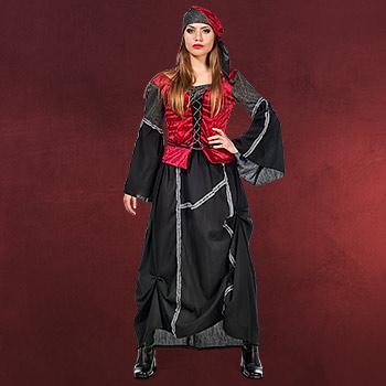 Spanische Piratin - Kostüm Damen