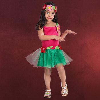 Hawaii Girl - Kostüm Kinder