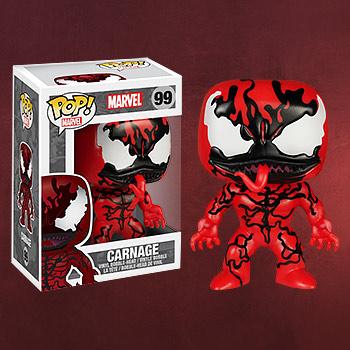 Marvel - Carnage Wackelkopf-Figur exklusiv