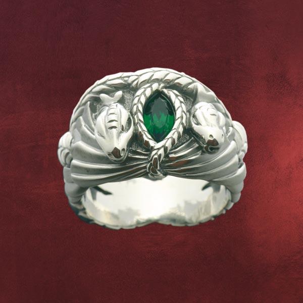 Barahirs Ring Aragorns Ring Herr Der Ringe Elbenwald