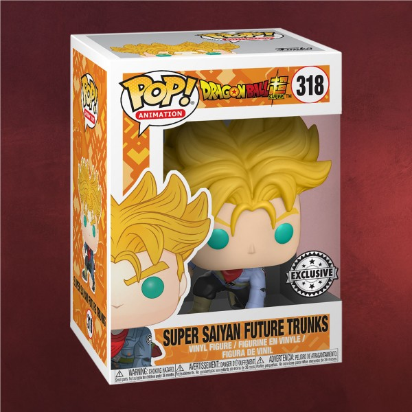 Dragon Ball - Super Saiyajin Future Trunks Funko Pop Figur