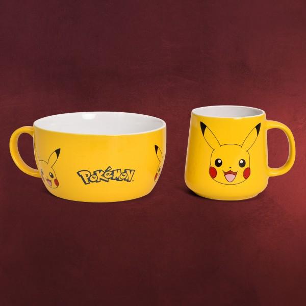 Pokemon - Pikachu Frühstücksset