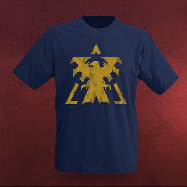 StarCraft II - Terran Vintage T-Shirt blau