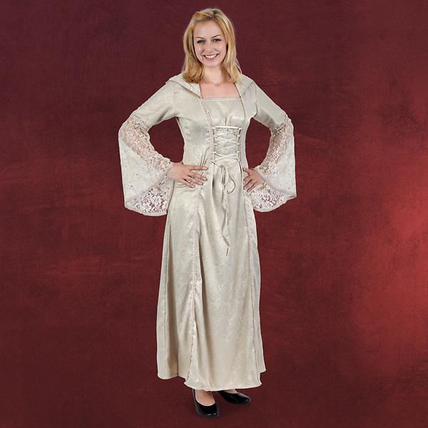 Marianna Mittelalter Kleid natur