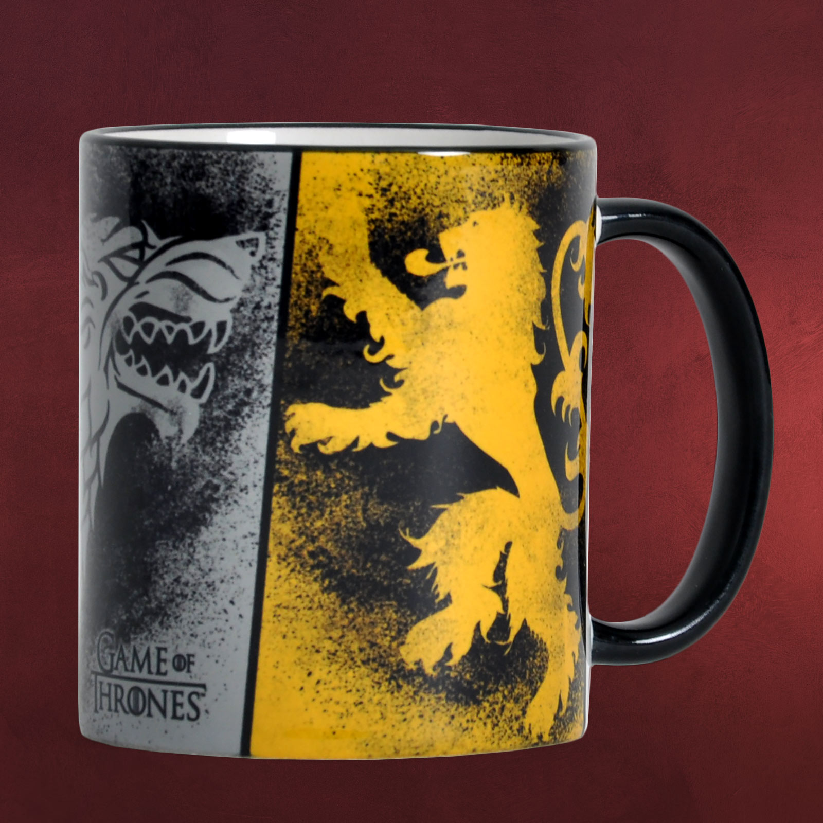 game of thrones wappen tasse elbenwald. Black Bedroom Furniture Sets. Home Design Ideas