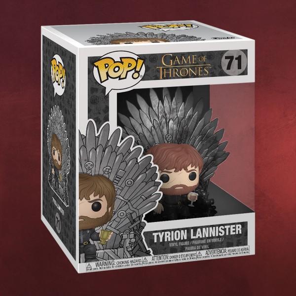 Game of Thrones - Tyrion Lannister mit Eisernem Thron Funko Pop Figur