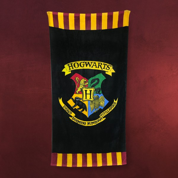 Harry Potter - Hogwarts Wappen Badetuch