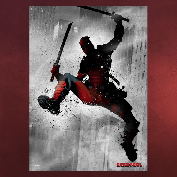 Deadpool Metall Poster