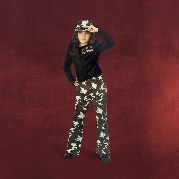 Army Girl Star Kostüm - Kinderkostüm