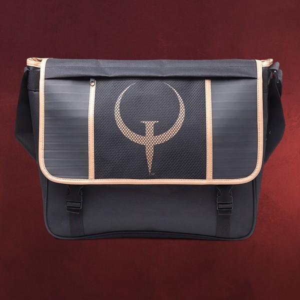 Quake - Logo Tasche schwarz