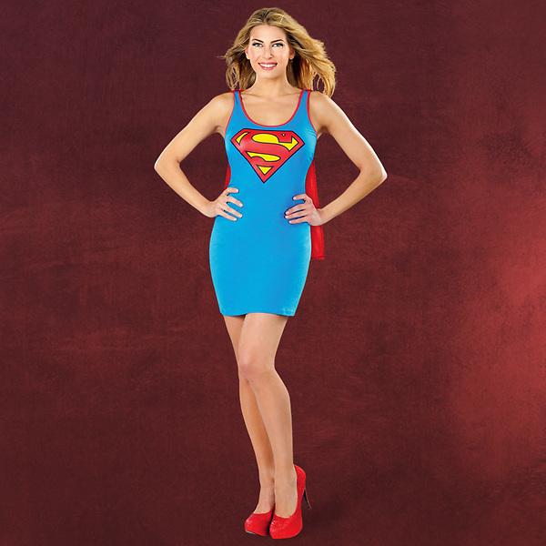Supergirl - Kostümkleid mit Umhang