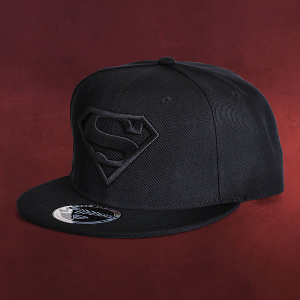 Superman - Black Logo Basecap