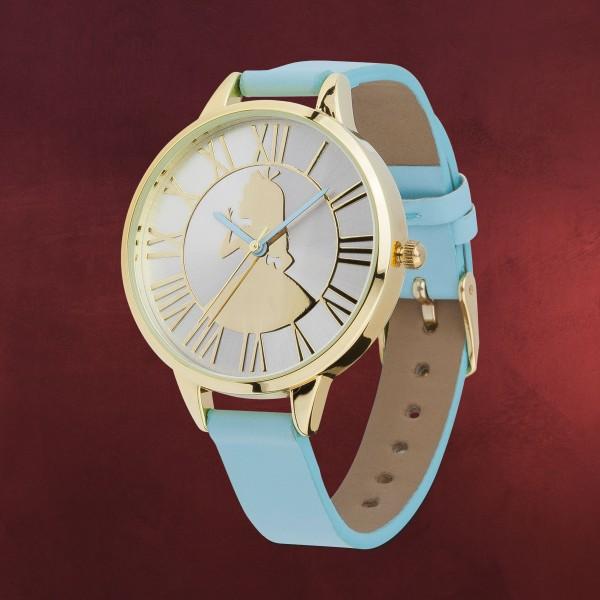 Alice im Wunderland - Silhouette Armbanduhr