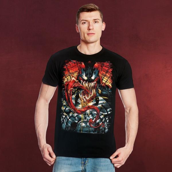 Marvel - Venom Attack T-Shirt schwarz