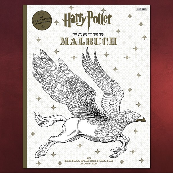 Harry Potter Poster Malbuch Elbenwald