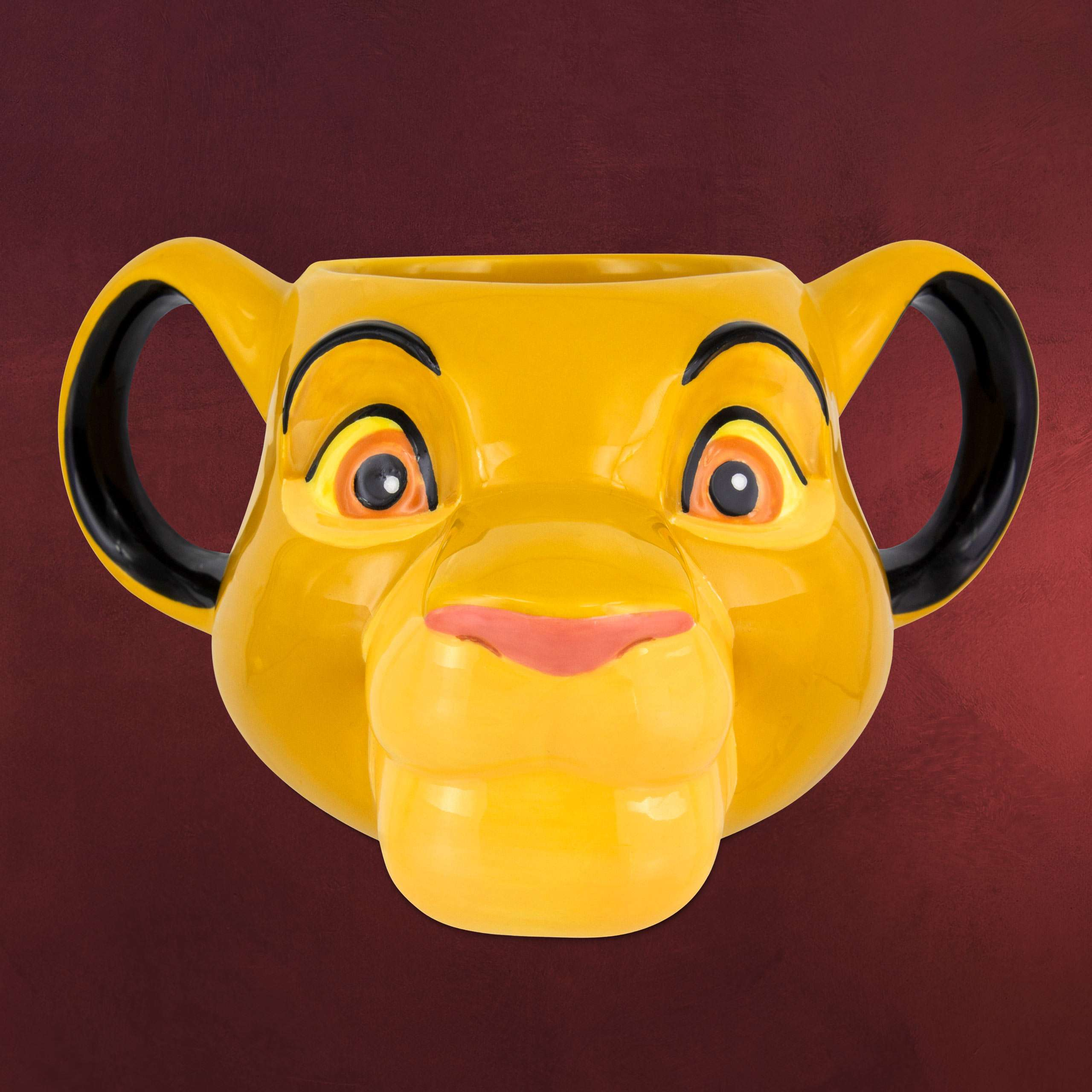 Disney Premium Notizbuch K/önig der L/öwen Simba 3D Pl/üsch