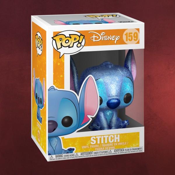 Lilo & Stitch - Stitch Glitter Funko Pop Figur