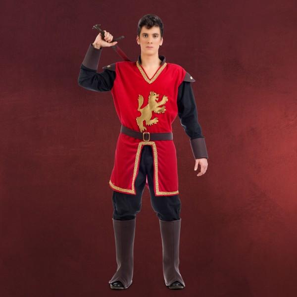 Mittelalter Prinz Löwenherz - Kostüm Herren