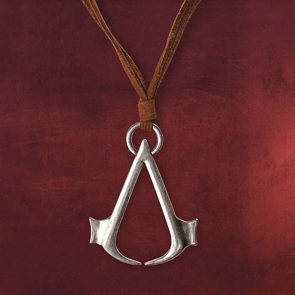 Assassins Creed - Logo Anhänger mit Lederband