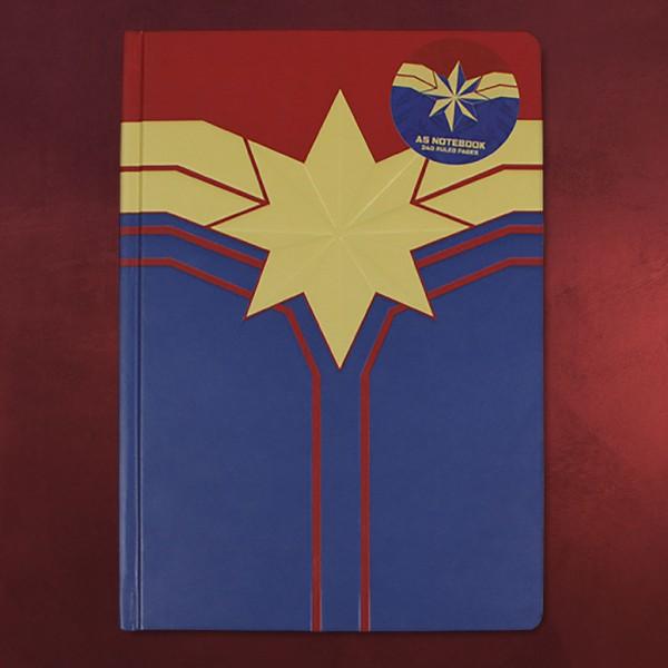 Captain Marvel - Notizbuch A5