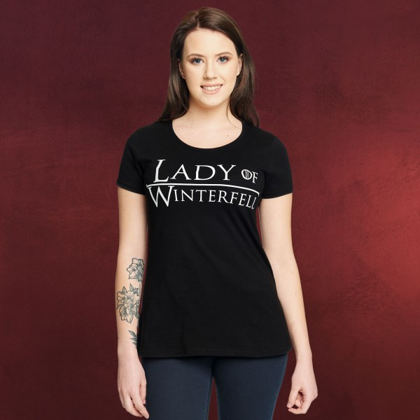 Lady of Winterfell Damen T-Shirt für Game of Thrones Fans