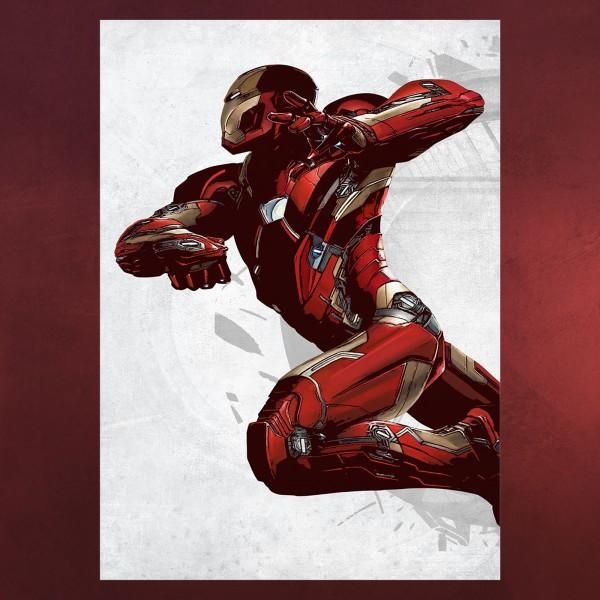 Iron Man Metall Poster