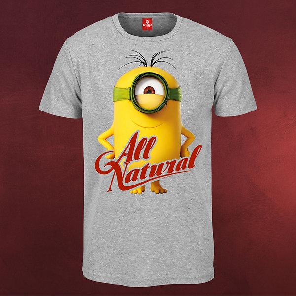 Minions - All Natural T-Shirt grau